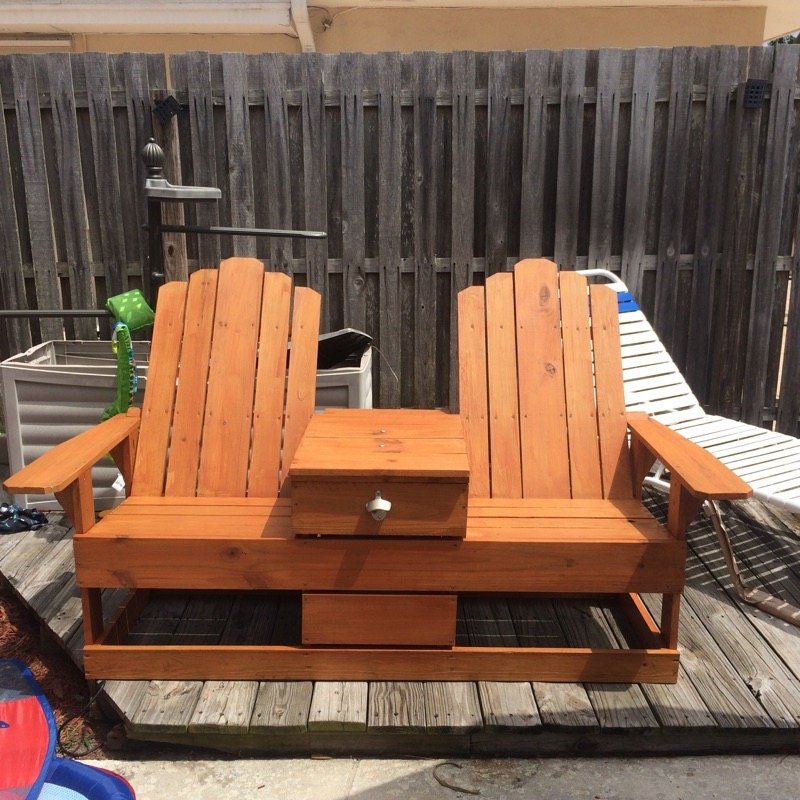 Adirondack Chair With Cooler Plans Free: Adirondack Chairs With Built In Cooler Storage