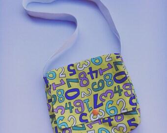 Toddler Whimsical Number Purse (Messenger Bag)