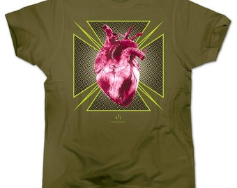 T-shirt HEART OF 70'S