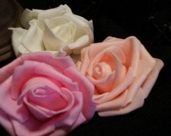 3 piece foam flowers