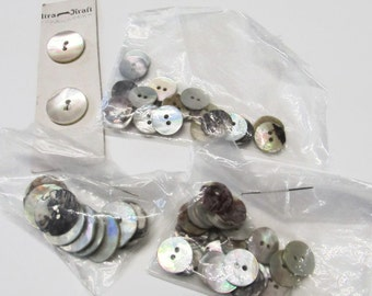 Lot of Vintage Mother of Pearl Buttons