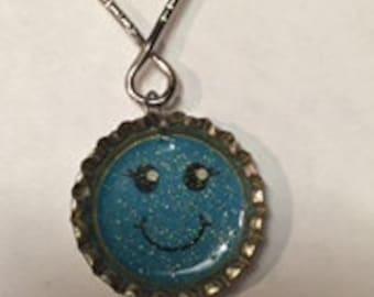 Happy Face Key Chain