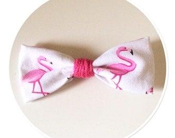 "Bow tie ""Pink Flamingo"""