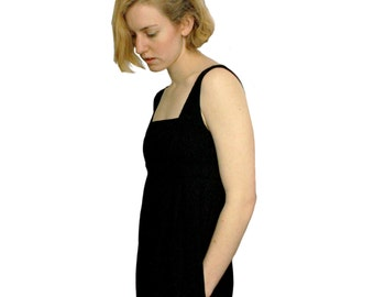 Black Dress / Vintage 1990s / Diane Von Furstenberg