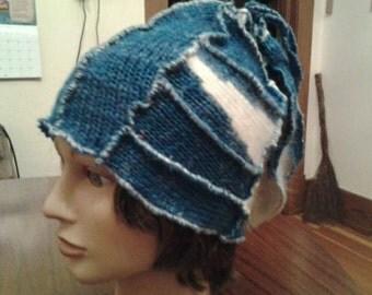 Whimsical  Blue Hat