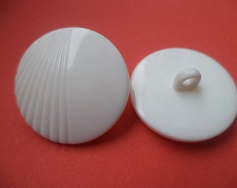 9 buttons white 22mm 24mm (296 5103) button