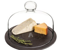 Personalized Slate Tray with Glass Dome (10/31/16)