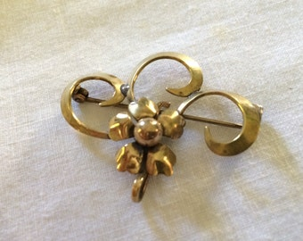 Brass Watch Pin