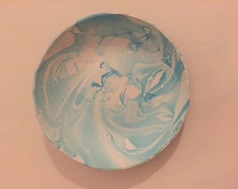 Marble Effect Clay Bowl