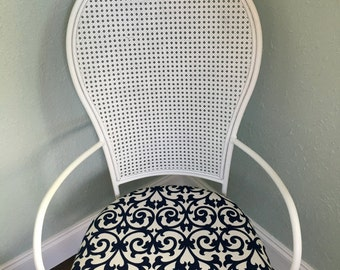 Vintage 1970's Cane Back Chair