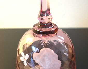 Fenton Art Glass Bell, signed by D. Anderson