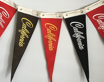 California Pennant Flags