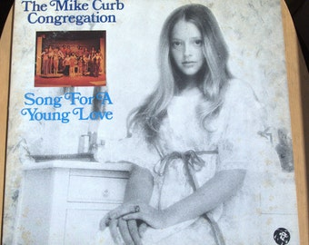 The Mike Curb Congegation  Song For A Young Love 1972 LP VG+