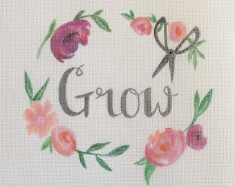 Grow Needlepoint - Canvas ONLY