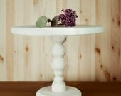 Wooden white Cake Stand Any Color Sectional Cupcake Pedestal Portable Stand Rustic Wedding Decor Plate Puesto de pasteles Stand de gâteaux