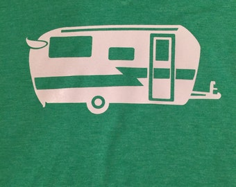Camper V Neck T-Shirt