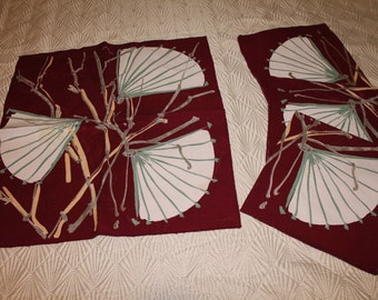 Two sets of Vera Neumann Linens (Napkins/Placemats)