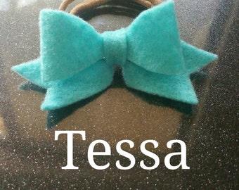 Tessa Hand-made Felt Bow