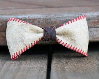 Baseball Bow Tie Etsy