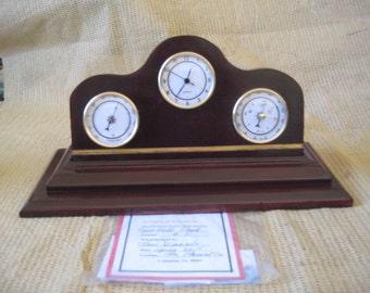 TRUMBELL MANTLE CLOCK