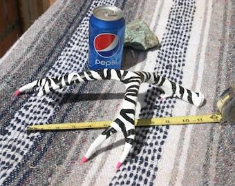 Arizona (to) Zebra~hand-painted Mule Deer Antler