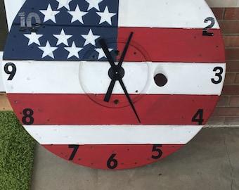 Spool Clock