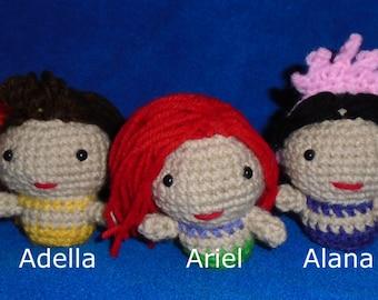 Crochet The Little Mermaid Amigurumi