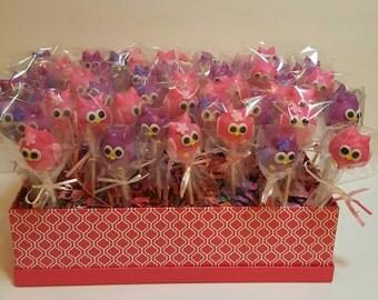 Owl cake pops (Order of 13)