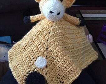 Baby Giraffe Plush Blanket