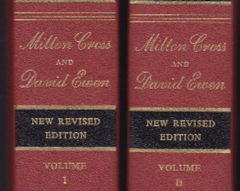 Milton Cross Encyclopedia of the Great Composers and Their Music 1962