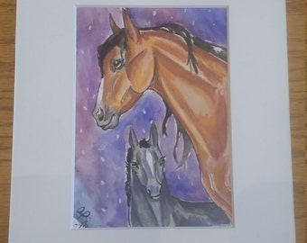 Galaxy Mare and Foal