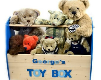 Toy Box, Personalised
