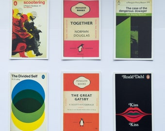 Penguin Book Cover Postcards