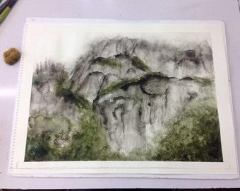 Misty Castle Crags