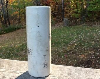 "Birch vase - 6"" tall"