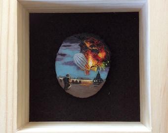 Hindenburg Disaster Brooch