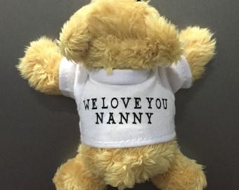 Personalised Teddy Fridge Magnet