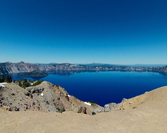 Amazing Crater Lake