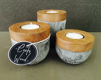 Trio candle set (3)