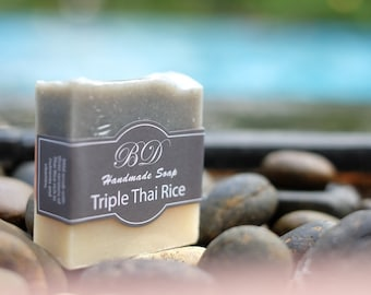 Rice Soap - Handmade Soap, Organic Soap, Handcrafted Soap, Natural Soap