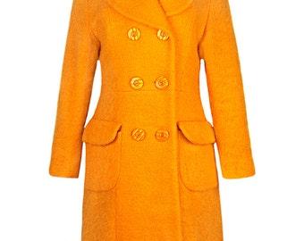 Hermès Orange Coloured Coat