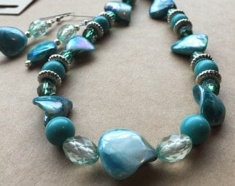 Necklace of Teals
