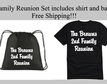 Family Reunion T-Shirts and bookbag Free Shipping . Reunion Shirts. Personalized T-Shirt. Reunion. Family Reunion Tees. Family Trip
