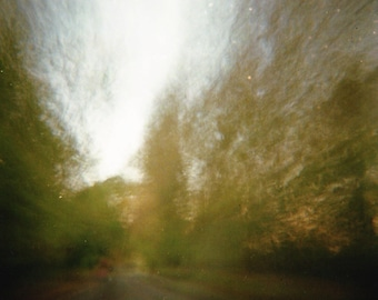Abstract Speed - Lomography Print