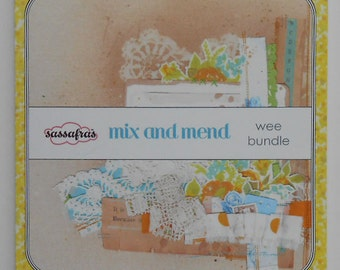 Mix and Mend 6x6 Wee Bundle Scrapbook Pad