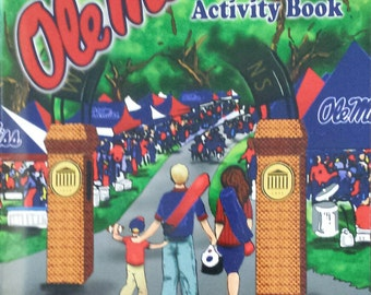 Ole Miss Children's Book: Ole Miss Activity Book