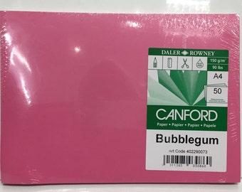 Paper - 50 sheets Bubblegum