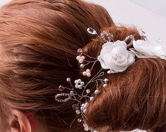 Jemma Floral Hair Vine