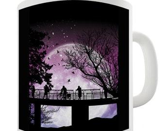 Moon So Close Ceramic Mug