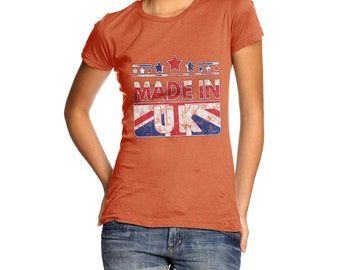 Women's Made In UK United Kingdom T-Shirt